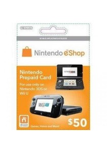 Nintendo Eshop Prepaid Card - USD 50 (Digital Code)