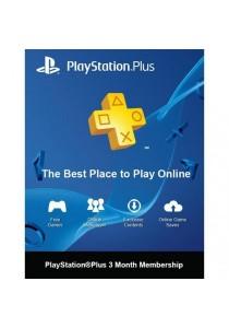 3-Month Playstation Plus Membership - PS3/ PS4/ PS Vita [Digital Code] (MALAYSIA SERVER)