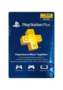 1-Year PlayStation Plus Membership - PS3/ PS4/ PS Vita [Digital Code] (US PSN ONLY)