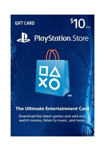 PlayStation Store Gift Card - PS3/ PS4/ PS Vita [Digital Code] - USD 10 ( US PSN ACCOUNT ONLY)