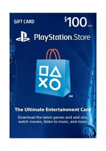 PlayStation Store Gift Card - PS3/ PS4/ PS Vita [Digital Code] - USD 100 ( US PSN ACCOUNT ONLY)