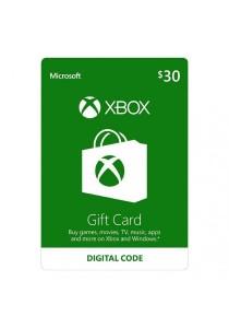 Xbox Gift Card Digital Code - USD 30