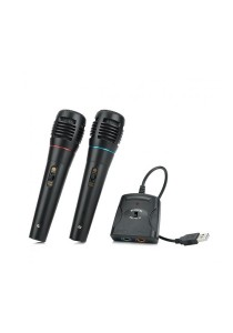 4-in-1 Wired Karaoke Microphones Singing for PS3/XBOX360/Nintendo WII/PC