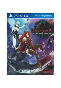 [PS Vita] Deception IV: The Nightmare Princess (R3)