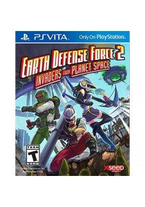 [PS Vita] Earth Defense Force 2: Invaders from Planet Space