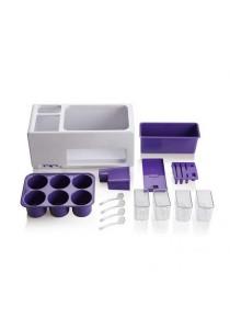 FASHION TEE Seasoning Box (White/Purple)