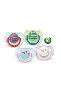 Twin Pack Philips AVENT Soother Fashion Range 6-18 Month SCF172/22