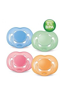 Twin Pack Philips AVENT Soother Freeflow 6-18 Month SCF178/24