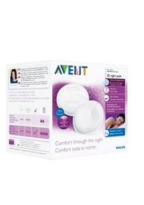 Philips AVENT Disposable Breast Pads Night 20s SCF253/20