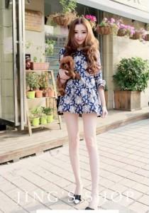 Stylish Dress - SD78212 (Blue)