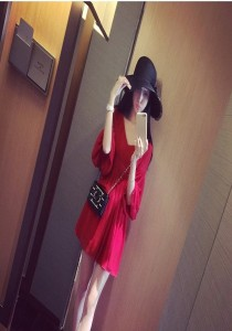 Sexy Chiffon Dress (SD79870)