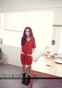 Stylish Dress - SD93201 (Red)