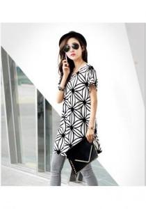 Korean Stylish Flower Dress - SD986061 (White)