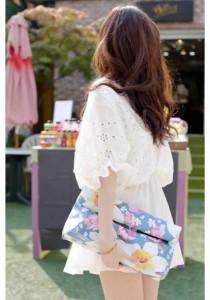 Korean Fashion Dress - SD99674 (White)