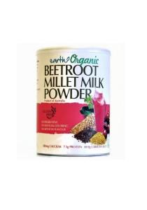 Earth Organic Beetroot Millet Milk Powder (Gluten Free) 900g