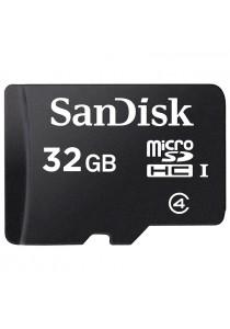 SanDisk 32GB Class 4 MicroSDHC Memory Card