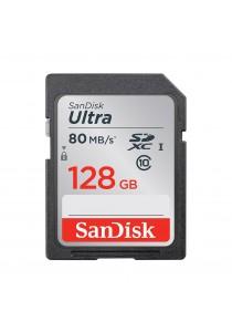 SanDisk Ultra 128GB 80MB/s C10 microSDXC UHS-I Memory Card