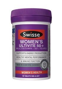 Swisse Womens 50+ Ultivite (60 Tablets)