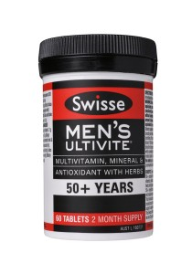 Swisse Men's 50+ Ultivite (60 Tablets)