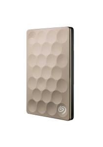 Seagate 1TB Seagate Backup Plus Ultra Slim Portable Drive - Gold (STEH1000301)