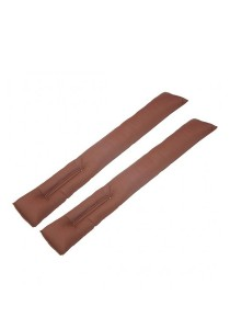 Amazing Car Seat Gap Filler Cushion for Audi (Brown)