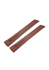 Amazing Car Seat Gap Filler Cushion for Kia (Brown)