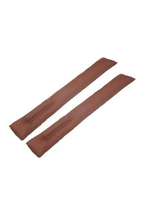 Amazing Car Seat Gap Filler Cushion for Nissan (Brown)