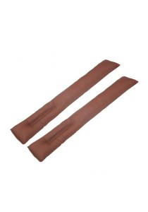 Amazing Car Seat Gap Filler Cushion for Proton (Brown)