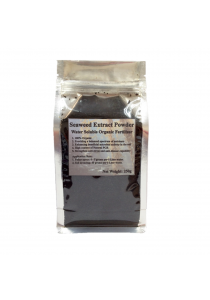 Seaweed Extract Powder Water Soluble Organic Fertilizer for Vegetables, Fruits & All ornamentals 250gm (Black)