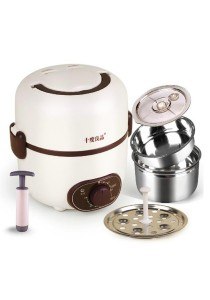Seed 2-tier Time Setting Control Electric Lunch Box with Vacuum Pump