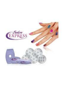 Salon Express Nail Stamping Nail Art Set