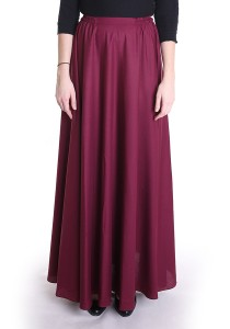 Button My Buttons x Seqoci Julia Maxi Skirt in Maroon