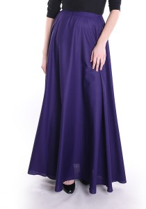 Button My Buttons x Seqoci Julia Maxi Skirt in Purple