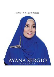 Hijab&Me - AYANA Sergio (Royal Blue)