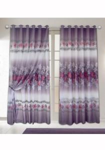 Set of 2-Piece Essina Penelope  2 Layer Eyelet Curtain