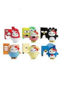 Set of 6 Hello Kitty Toys