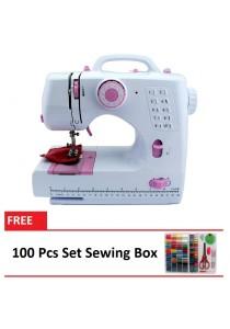 Sewing Machine HL-508B 10 Sewing options + 100 Pcs Set Sewing Box