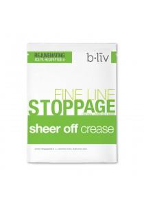 b.liv sheer off crease 7pcs (original japan silk mask)-bliv