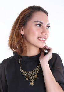 Chic Chic L Necklace KMA 10126 1114 (Brown)