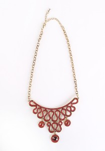 Chic Chic L Necklace KMA 10126 1114 (Red)