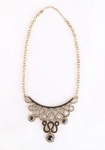 Chic Chic L Necklace KMA 10126 1114 (Black & White)
