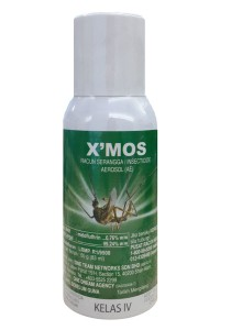 X'mos Mosquito Repellent (50g/83ml bottle)