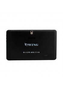 Ewing MTK6572 8GB Dual Core Tablet (Black) - Black with Leather Case