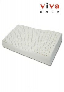 Therapedic Rubber Foam Pillow (Natural Rest 3) - Side Sleeper