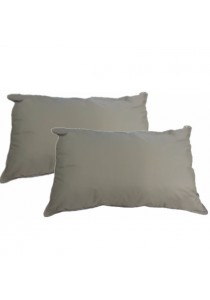 2 Pcs Silentnight Natural Cotton Pillow Set
