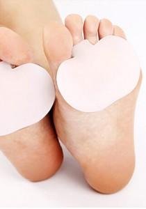 1 Pair of Soft Silica Metatarsal Pads