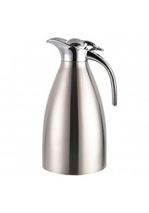 2L Double Stainless Steel Coffee Pot