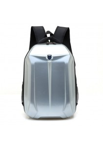 Large-Capacity Hard Shell Waterproof Backpack