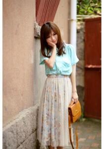 Stylish Flora Skirt - SK76426