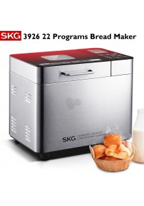 SKG 3926 Multifunctional 22 Programs Automatic Bread Maker Machine